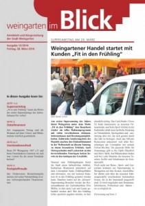 Ausgabe 12/2014 - Freitag, 28.03.2014