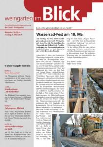 Ausgabe 18/2014 - Freitag, 09.05.2014