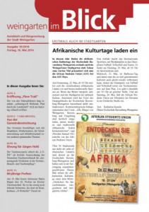 Ausgabe 19/2014 - Freitag, 16.05.2014