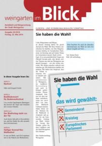 Ausgabe 20/2014 - Freitag, 23.05.2014