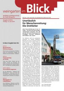 Ausgabe 23/2014 - Freitag, 13.06.2014