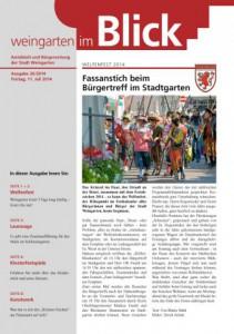Ausgabe 26/2014 - Freitag, 11.07.2014