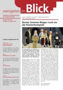Ausgabe 30/2014 - Freitag, 08.08.2014 (1,9 MB)