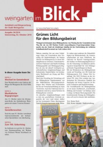 Ausgabe 34/2014 - Donnerstag, 02.10.2014 (1,9 MB)