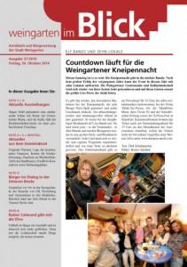 Ausgabe 37/2014 - Freitag, 24.10.2014