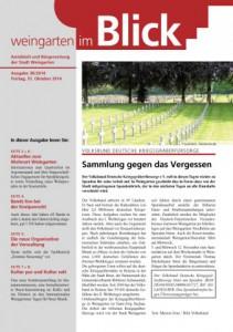 Ausgabe 38/2014 - Freitag, 31.10.2014