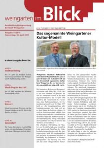 Ausgabe 17/2015 - Donnerstag, 30.04.2015