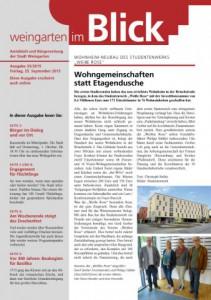 Ausgabe 33/2015 - Freitag, 25.09.2015