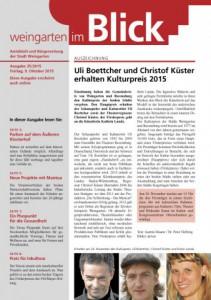 Ausgabe 35/2015 - Freitag, 09.10.2015