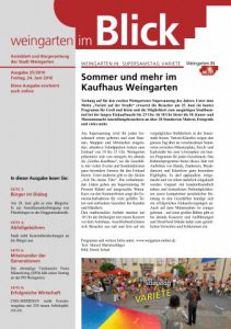 Ausgabe 25/2016 - Freitag, 24.06.16